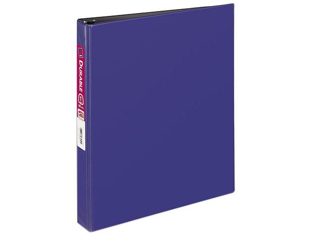 "Avery 27251 Durable EZ-Turn Ring Reference Binder, 11 x 8-1/2, 1"" Capacity, Blue"