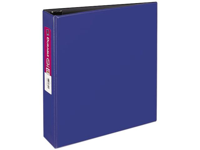 "Avery 27551 Durable EZ-Turn Ring Reference Binder, 11 x 8-1/2, 2"" Capacity, Blue"