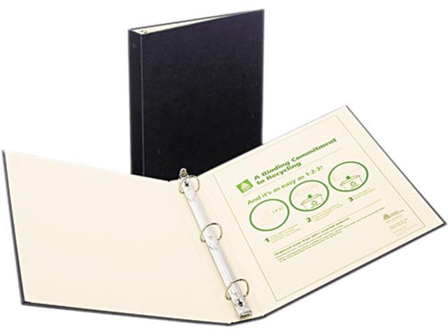 Avery 50004 Recyclable Ring Binder With EZ-Turn Rings, 1-1/2