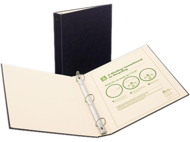 Avery 50012 Recyclable Ring Binder With EZ-Turn Rings, 3
