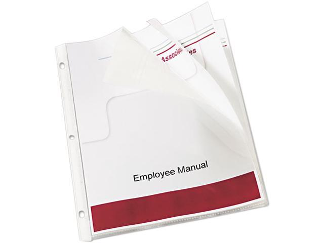 Avery 74301 Top-Load Bound Poly Sheet Protector Sets, Standard Gauge, Letter, 10 Pages