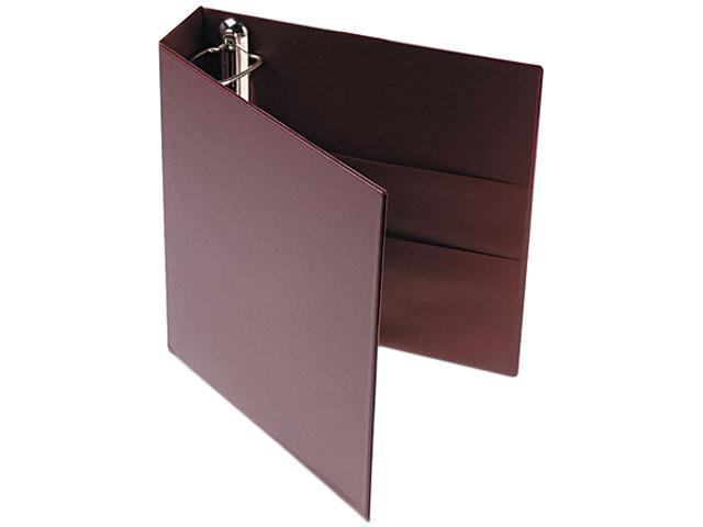 "Avery 79362 79362 Heavy-Duty Vinyl EZD Ring Reference Binder, 2"" Capacity, Maroon"