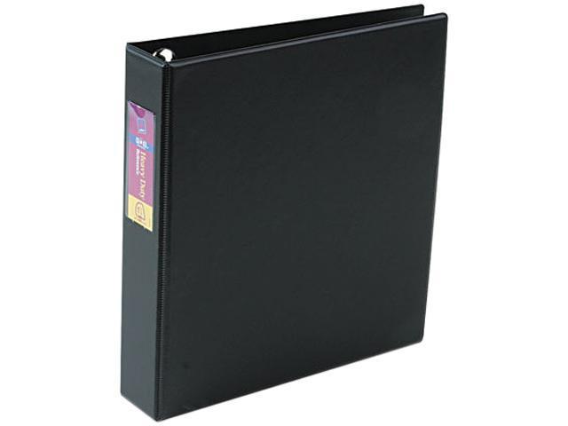 Avery 79991 Heavy-Duty Vinyl EZD Ring Reference Binder, Label Holder, 1-1/2