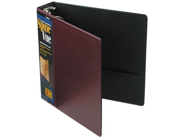 Cardinal 16858 SpineVue Round Ring View Binder, 2