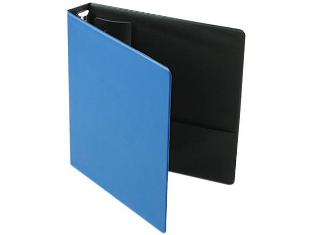 "Cardinal 18827 EasyOpen Locking Round Ring Binder, 11 x 8-1/2, 1-1/2"" Capacity, Medium Blue"