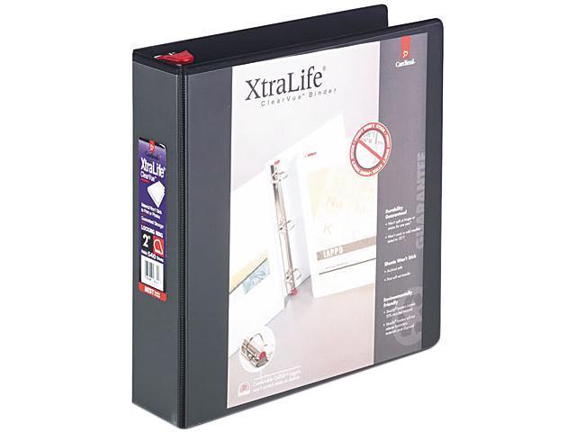 Cardinal 26321 ClearVue XtraLife Slant-D Presentation Binder, 2