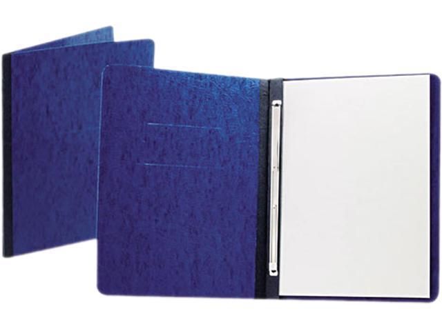 "Oxford 12702 PressGuard Report Cover, Prong Clip, Letter, 3"" Capacity, Dark Blue"