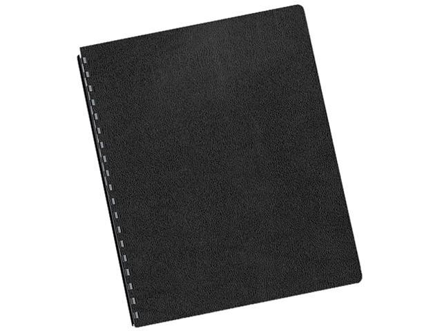 52146 Fellowes Executive Presentation Binding System Covers, 11-1/4 x 8-3/4, Black, 50/Pack