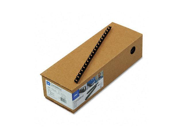 "4011485 GBC CombBind Standard Spines, 3/8"" Diameter, 55 Sheet Capacity, Navy Blue, 100/Box"
