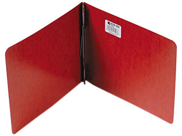 "Acco 17048 Presstex Report Cover, Prong Clip, Letter, 3"" Capacity, Red"