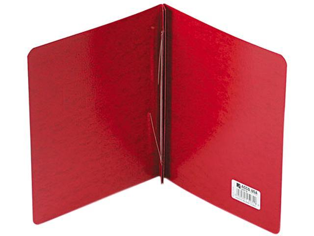 """Acco 25079 Presstex Report Cover, Prong Clip, Letter, 3"""" Capacity, Executive Red"""