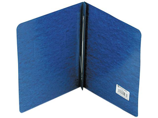"Acco 25973 Pressboard Report Cover, Prong Clip, Letter, 3"" Capacity, Dark Blue"