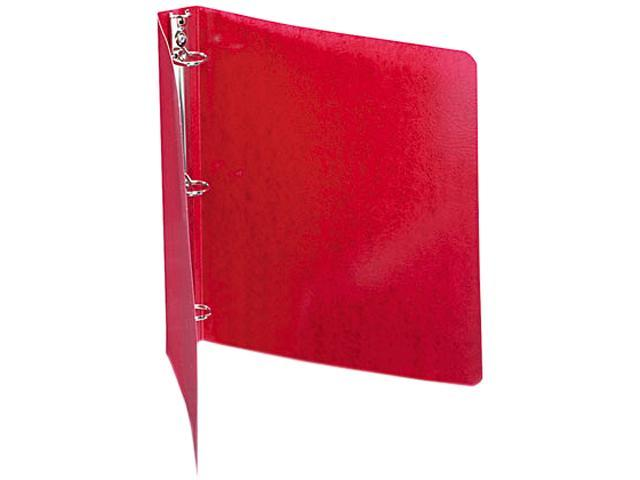 "ACCO 38619 Recycled PRESSTEX Round Ring Binder, 1"" Capacity, Executive Red"