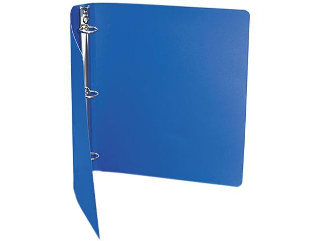 "ACCO 39712 ACCOHIDE Poly Ring Binder With 35-Pt. Cover, 1"" Capacity, Dark Royal Blue"