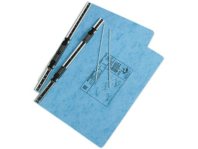 ACCO 54042 Pressboard Hanging Data Binder, 14-7/8 x 8-1/2, Light Blue
