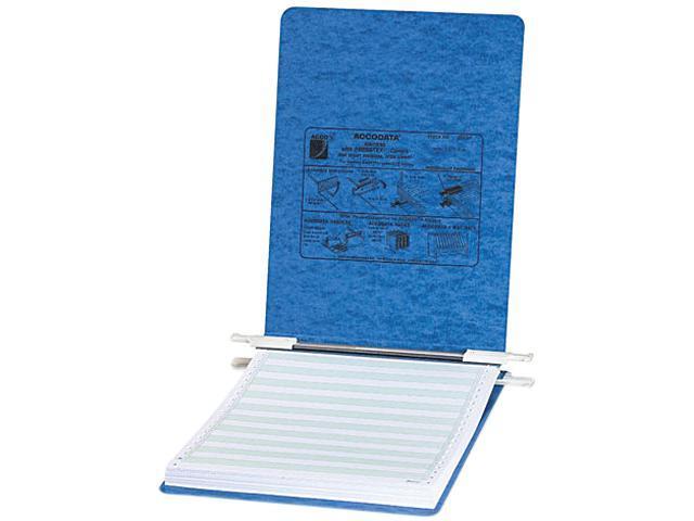 ACCO 54052 Pressboard Hanging Data Binder, 8-1/2 x 11 Unburst Sheets, Light Blue