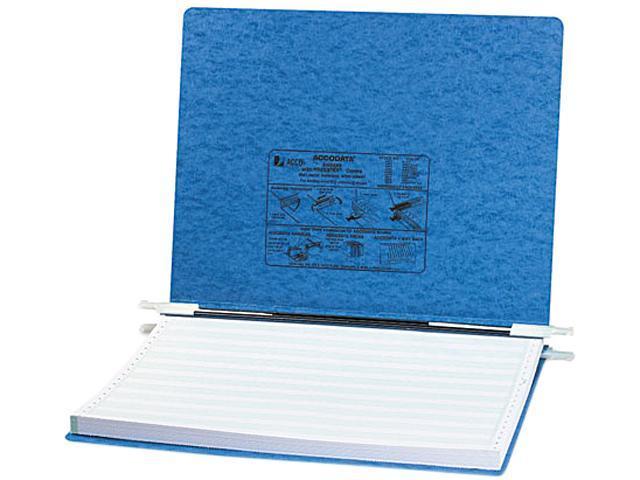 ACCO 54072 Pressboard Hanging Data Binder, 14-7/8 x 11 Unburst Sheets, Light Blue