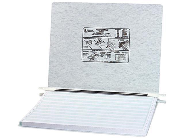 ACCO 54074 Pressboard Hanging Data Binder, 14-7/8 x 11 Unburst Sheets, Light Gray