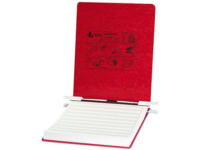 ACCO 54119 Pressboard Hanging Data Binder, 9-1/2 x 11 Unburst Sheets, Executive Red