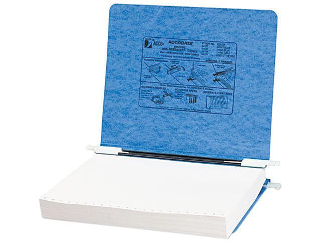 ACCO 54122 Pressboard Hanging Data Binder, 11 x 8-1/2 Unburst Sheets, Light Blue