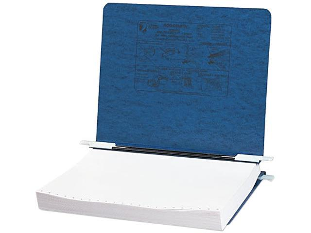 ACCO 54123 Pressboard Hanging Data Binder, 11 x 8-1/2 Unburst Sheets, Dark Blue