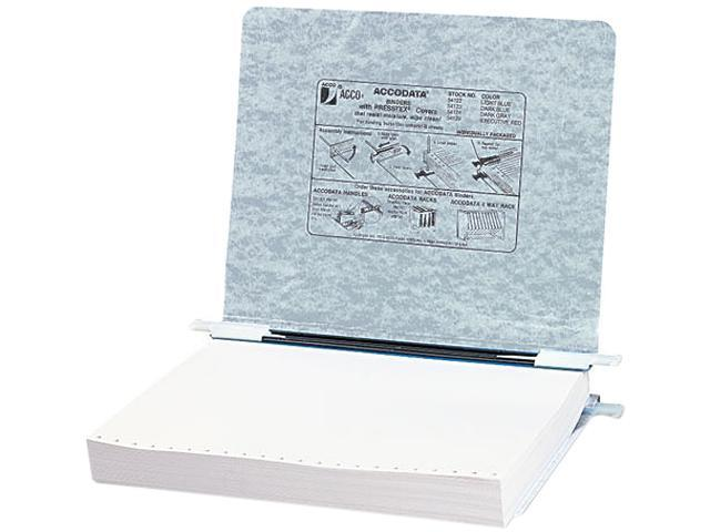 ACCO 54124 Pressboard Hanging Data Binder, 11 x 8-1/2 Unburst Sheets, Light Gray