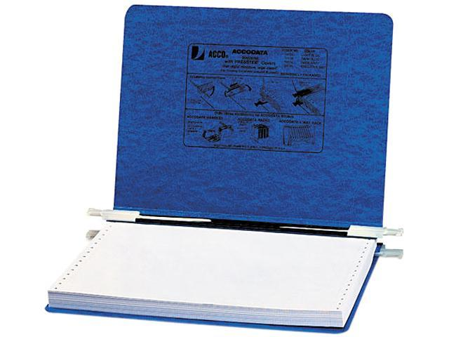 ACCO 54133 Pressboard Hanging Data Binder, 12 x 8-1/2 Unburst Sheets, Dark Blue
