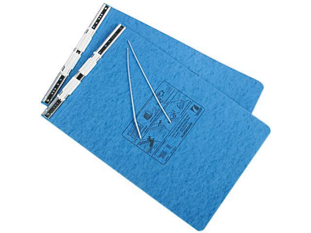 ACCO 54272 Pressboard Hanging Data Binder, 11 x 14-7/8 Burst Sheets, Light Blue