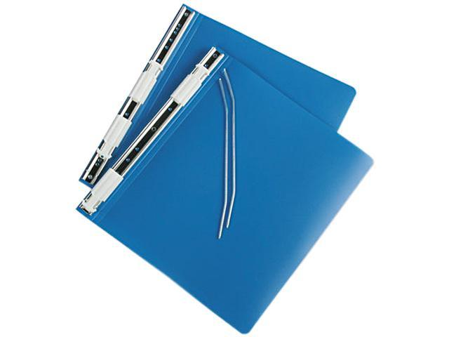 ACCO 56123 Hanging Data Binder With ACCOHIDE Cover, 11 x 8-1/2, Blue