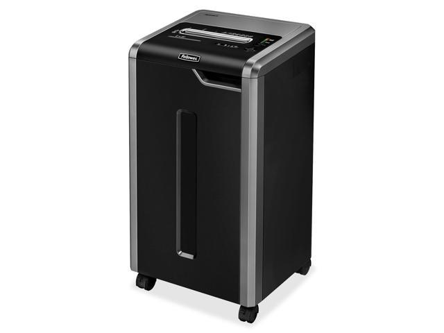 Fellowes 3831001 Powershred C-325CI Continuous-Duty Cross-Cut Shredder, 22 Sheet Capacity