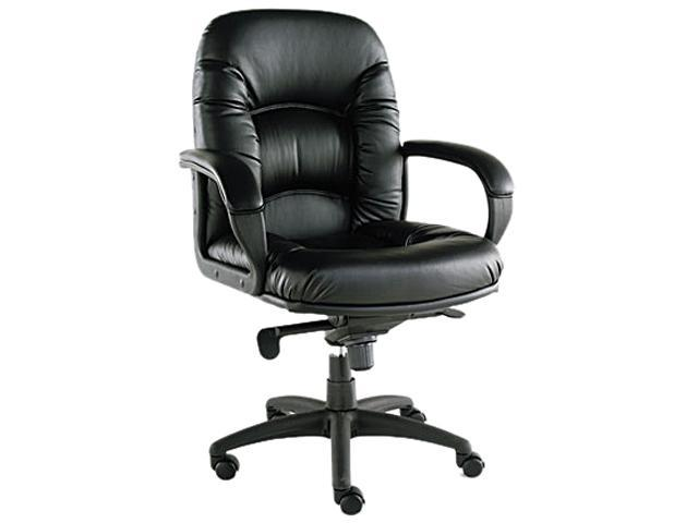 Nico Series Mid-Back Swivel/Tilt Chair, Black