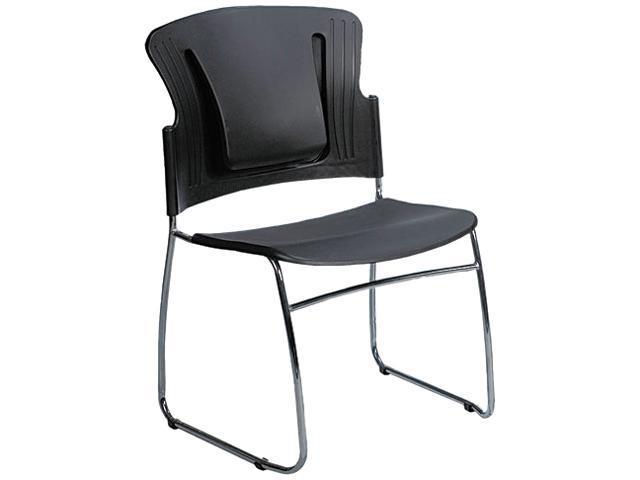 BALT 34428 ReFlex Series Stacking Chair, Black, 19w x 19d x 33h