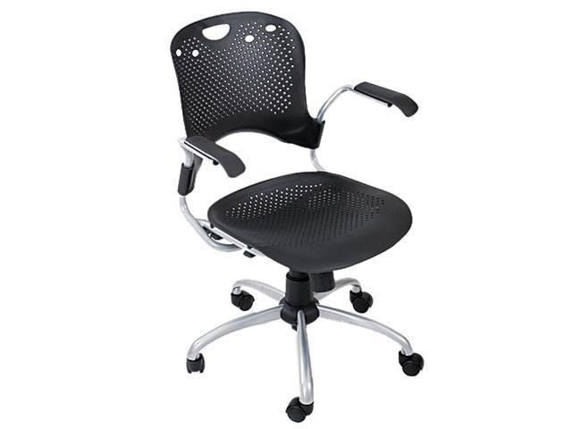 BALT 34552 Circulation Series Task Chair, Black, 25 x 23-3/4 x 37-3/4