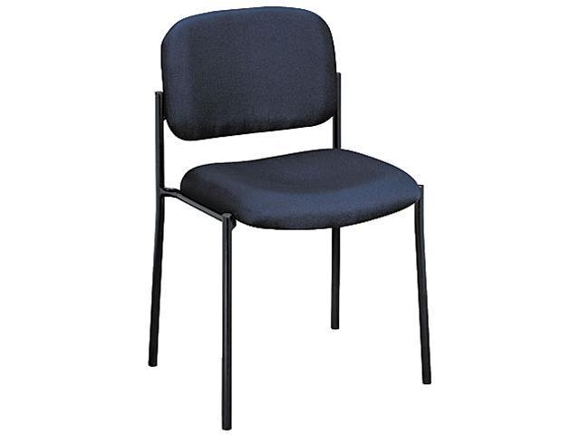 basyx VL606VA90 Armless Guest Chair, Blue
