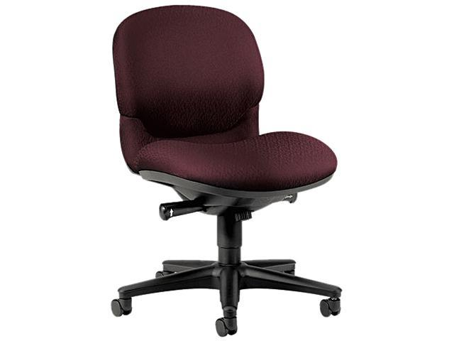 HON 6005NT69T Sensible Seating Mid-Back Pneumatic Swivel Chair, Wine