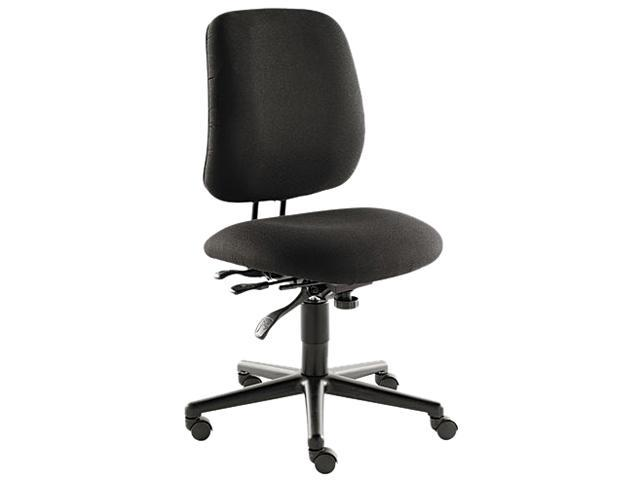HON 7707AB10T 7700 Series Swivel/Tilt Task chair, Asynchronous Control, Black