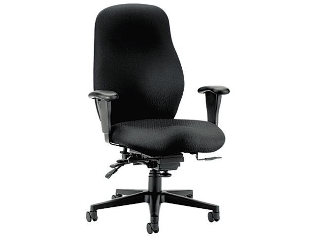 HON 7808NT10T 7800 Series High-Performance High-Back Executive/Task Chair, Tectonic Black