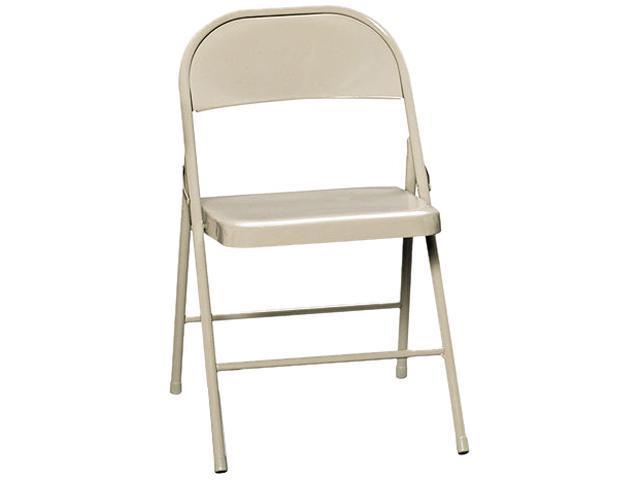 HON FC01LBG All-Steel Folding Chairs, Light Beige, 4/Carton