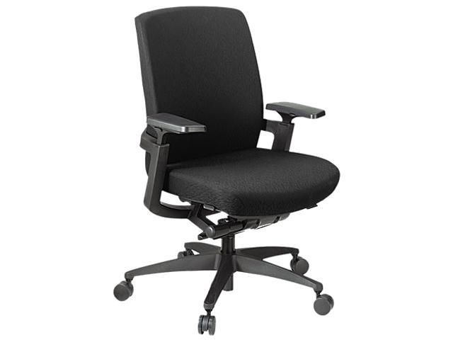 HON FWC1HPBNT10T F3 Series Synchro-Tilt Work Chair, Black Upholstery