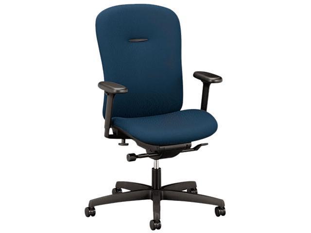 HON MAM1HUBNT90T Mirus Series Mid-Back Synchro-Tilt Chair, Mariner Fabric Upholstery