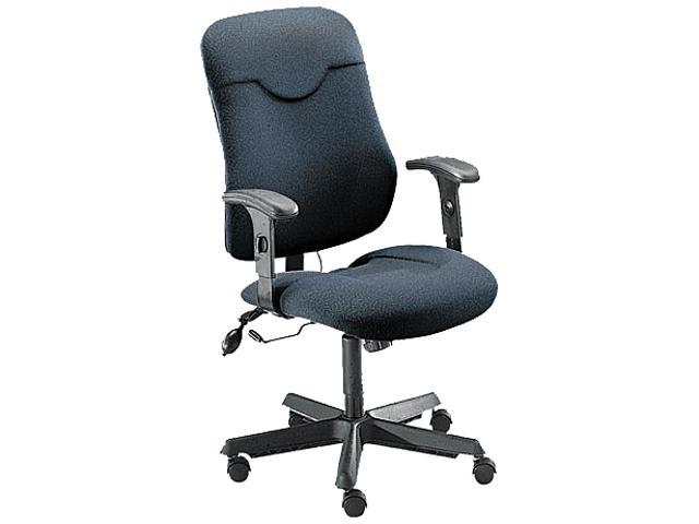 Mayline 9414AG2110 Comfort Series Executive Posture Chair, Gray Fabric