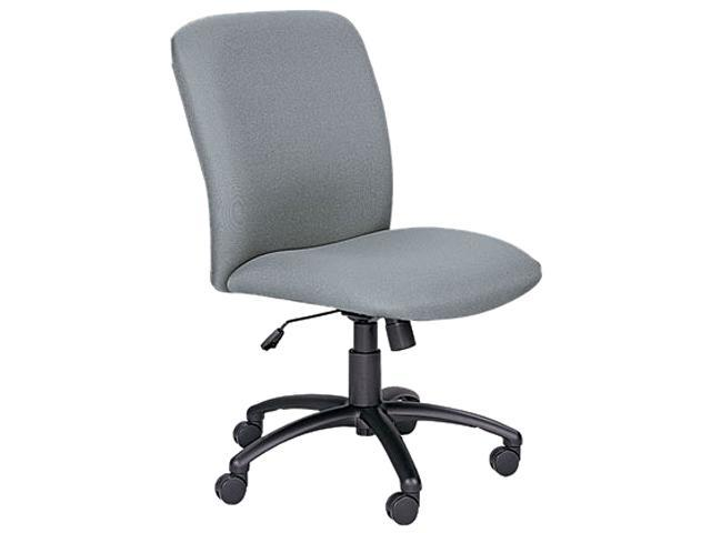 Safco 3490GR Chair, High-Back, Big & Tall, Gray