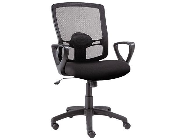 Etros Series Mesh Mid-Back Swivel/Tilt Chair, Black