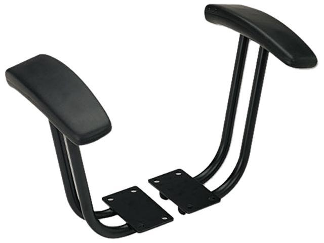 Fixed T-Arms for Interval and Essentia Series Chairs and Stools, Black