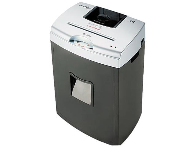 HSM of America X18 X18 Light-Duty Cross-Cut Shredder, 18 Sheet Capacity