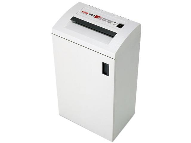 HSM of America 1663 108.2 Continuous-Duty Strip-Cut Shredder, 24 Sheet Capacity