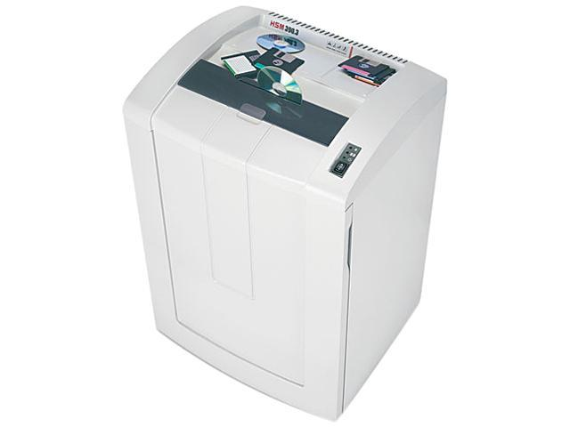 HSM of America 1366 390.3 Professional Continuous-Duty Strip-Cut Shredder, 42 Sheet Capacity