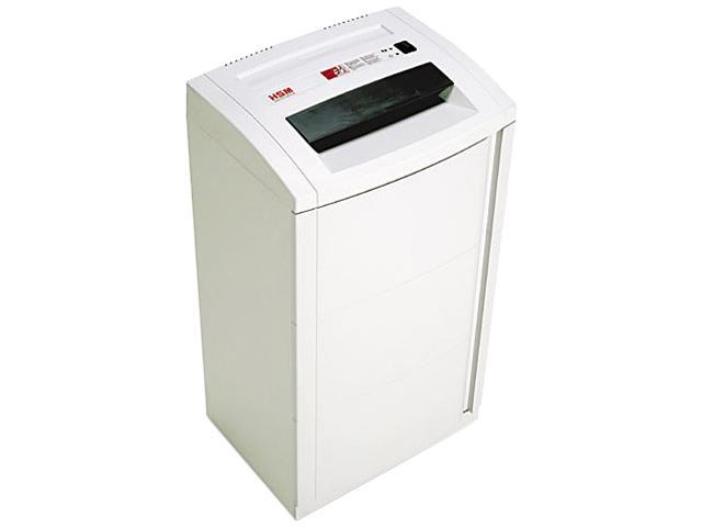 HSM of America 15624 125.2hsL6 Continuous-Duty High-Security Cross-Cut Shredder, 7 Sheet Capacity