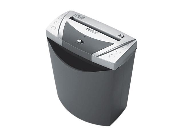 HSM of America 1004 shredstar X5 Light-Duty Cross-Cut Shredder, 7 Sheet Capacity