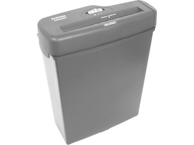 Aurora AS600SB Light-Duty AS600SB Strip-Cut Shredder, 6 Sheet Capacity